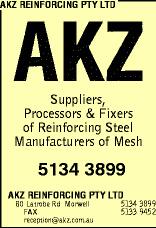 AKZ Reinforcing sponsor