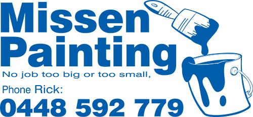 Missen Painting sponsor