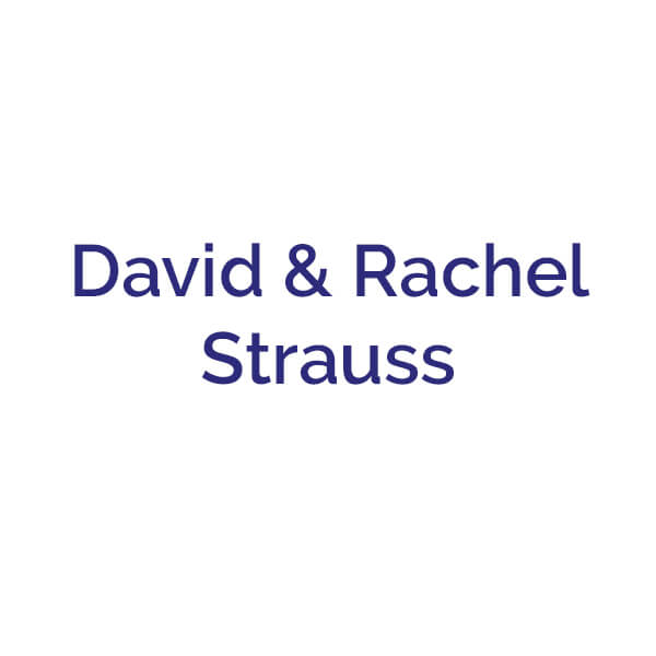 David & Rachel Strauss sponsor