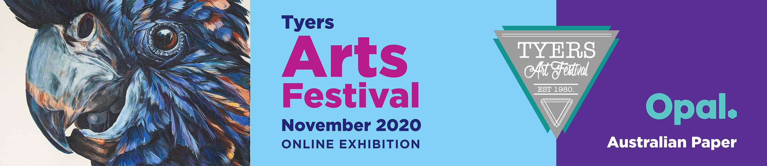 Tyers Art Festival banner