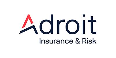 Adroit insurance sponsor logo