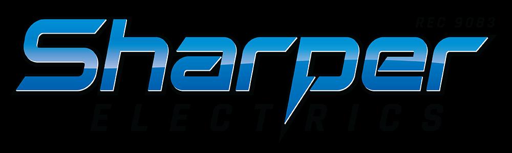 Sharper Electrics sponsor logo